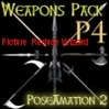 PA2 002 P4 Weapons Pack