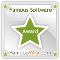 Famous Software Download Award