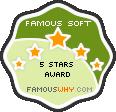 Famous 5 Stars Award Award