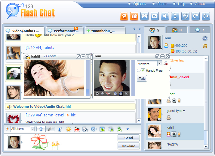 123 Flash Chat 9.9