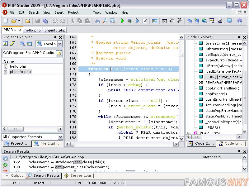 PHP Studio 2009 2.4.3