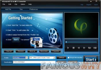 4Easysoft TS to MP3 Converter 3.1.16