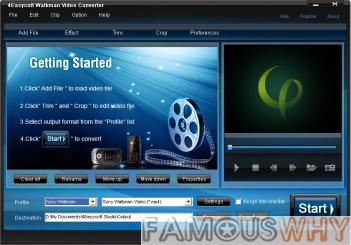 4Easysoft Walkman Video Converter 3.1.28