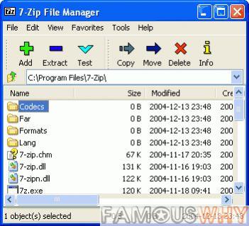 7-Zip 9.20 beta