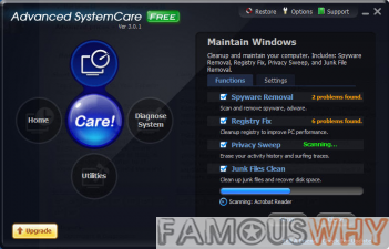 Advanced SystemCare Free 3.8.0