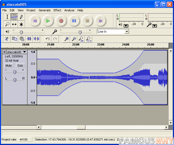 Audacity for Windows 1.3.12