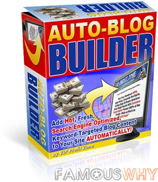 Auto-Blog Builder! Your Auto-Website Builder