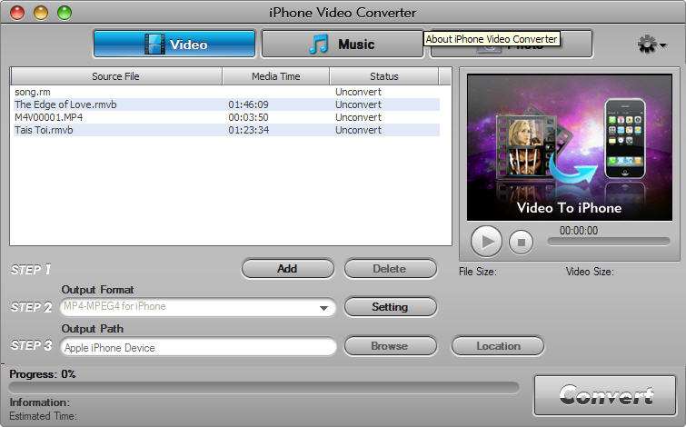 Aviosoft iPhone Video Converter 2.0.4.6