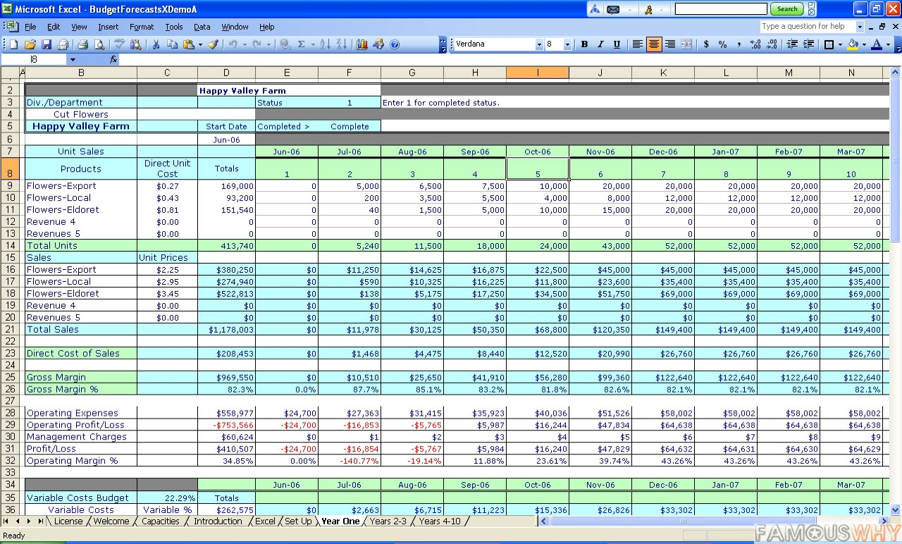 download budgeting spreadsheets for excel  budgeting