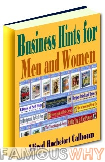 Business Hints For Men And Women-Ebook Only