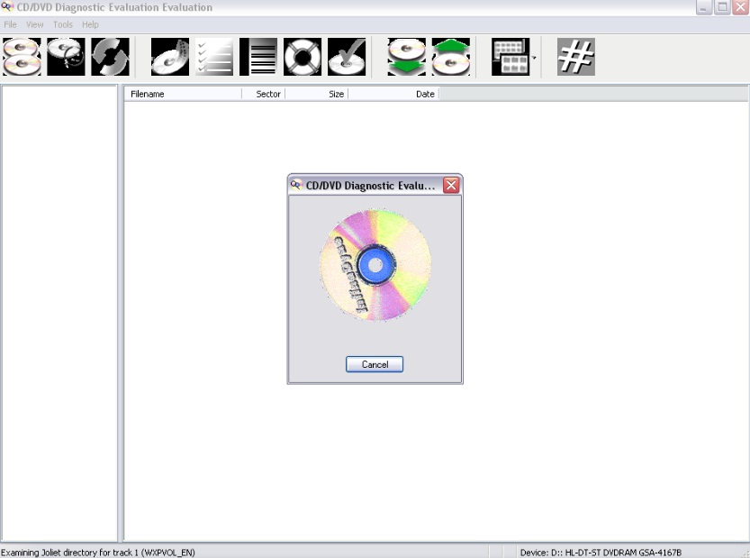 CD/DVD Diagnostic 3.0.0 Build 92