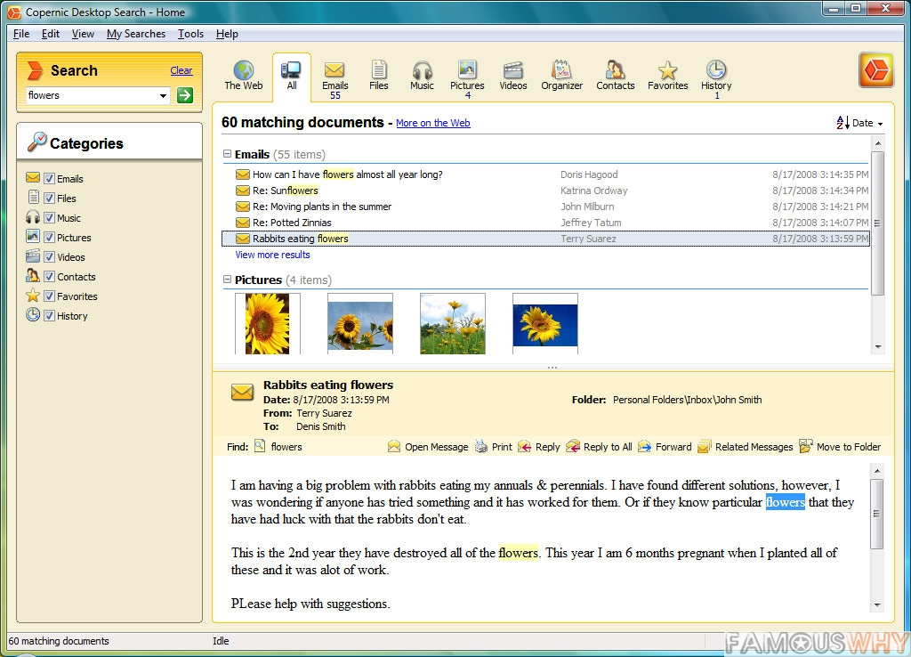 Copernic Desktop Search 3.7.0 Build 8