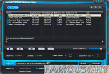 Daniusoft iPhone Ringtone Maker 1.0.1.0