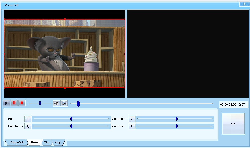DDVideo Video to MP4 Gain 4.1