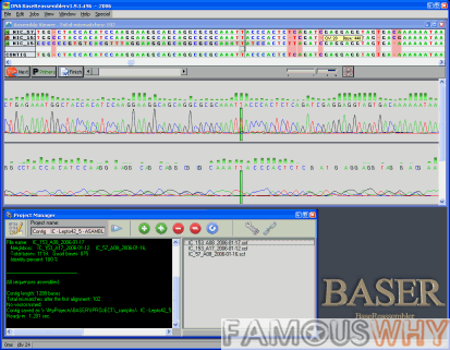 DNA BASER Assembler - affordable sequence assembly