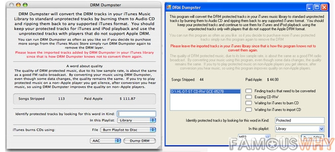 DRM Dumpster Virtual CD-RW 1.1.4