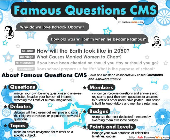 Famous Questions CMS 1.01