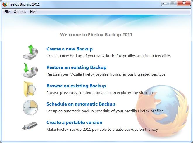 Firefox Backup 2011 2.0.3.10