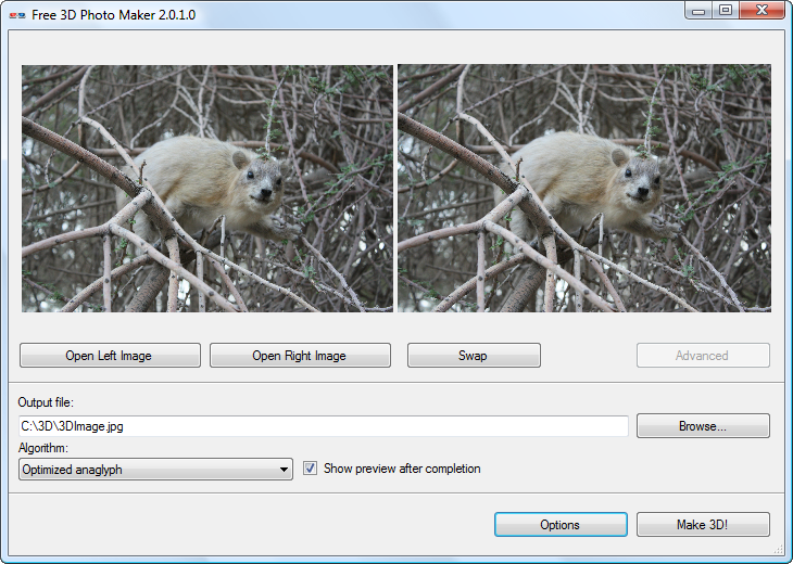 Free 3D Photo Maker 2.0.3.0