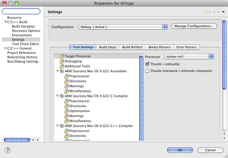 GNU ARM Eclipse Plug-in 0.5.3