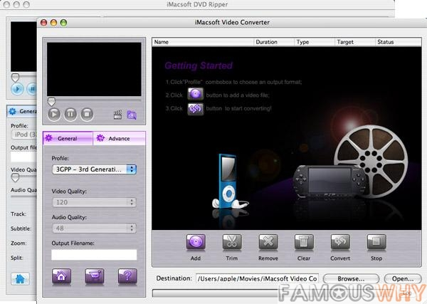 iMacsoft DVD Ripper Suite for Mac