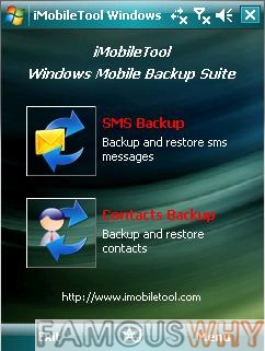 iMobileTool Windows Mobile Backup Suite