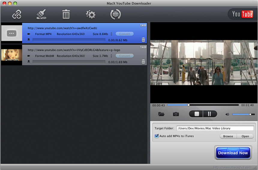 MacX YouTube Downloader 3.0.0