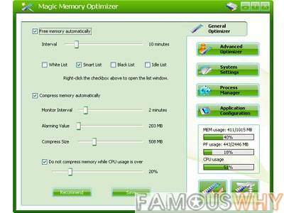 Magic Memory Optimizer  8.2.1.665