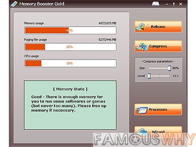 Memory Booster Gold  6.1.1.726