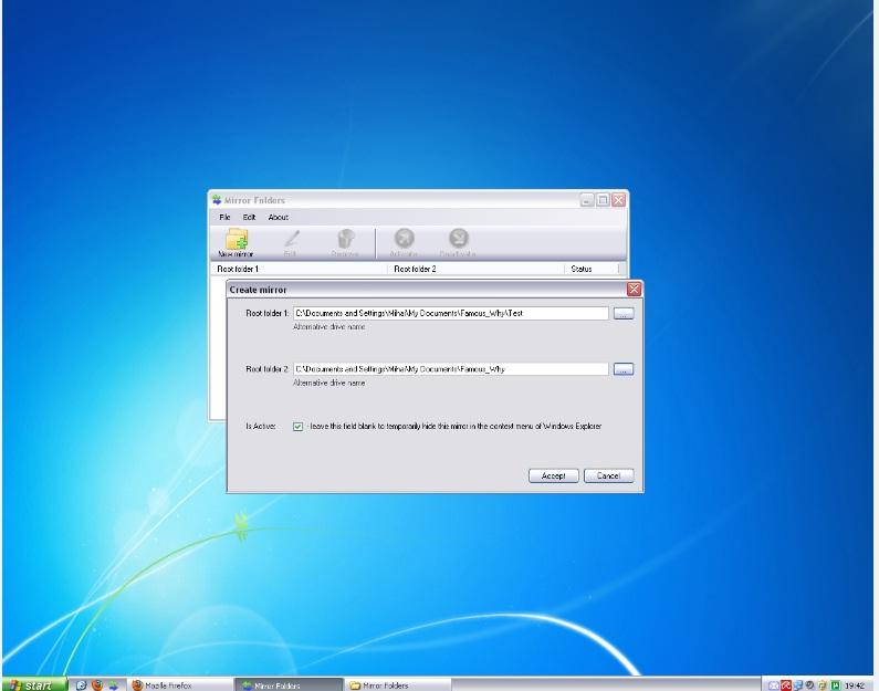 Mirror Folders 1.03