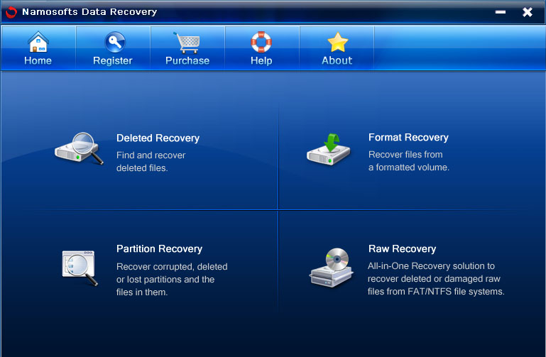 Namosofts Data Recovery 12.0.4.8