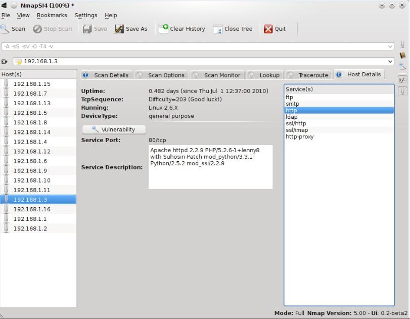 NmapSI4 0.4.1