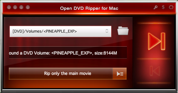 Open DVD Ripper for Mac 1.10