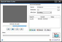 Oposoft Video Cutter 5.2