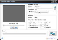 Oposoft Video Splitter 5.3