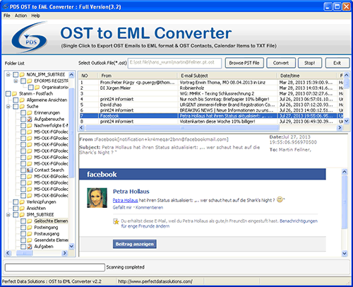 OST EML Converter 1.0