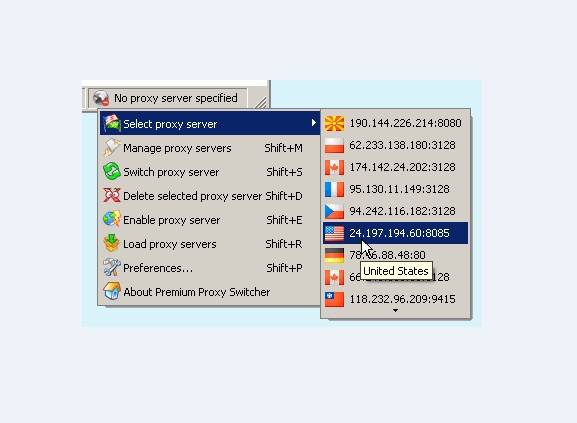 Premium Proxy Switcher 1.0.10