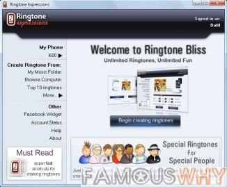 Ringtone Expressions 1.1.0 Beta