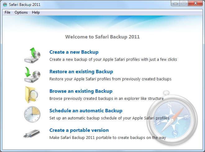Safari Backup 2011 2.0.3.10