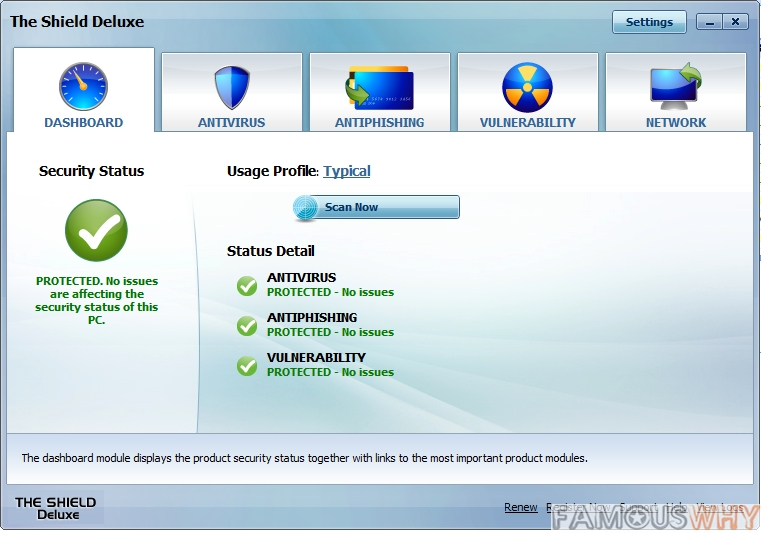 Shield Deluxe 2010 - Antivirus & Anti-Spyware