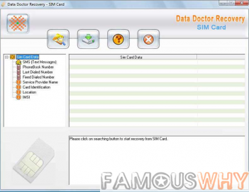 Simcard File Recovery Software 3.0.1.5