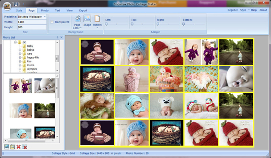 SnowFox Photo Collage Maker 1.6