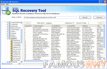 SQL Database Repair Software 3.0
