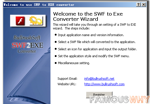 SWF to EXE Commercial Converter