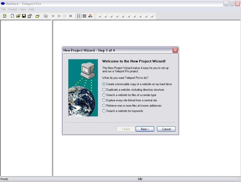 Website copy editing