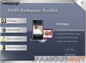 Tipard DVD Software Toolkit 4.1.10