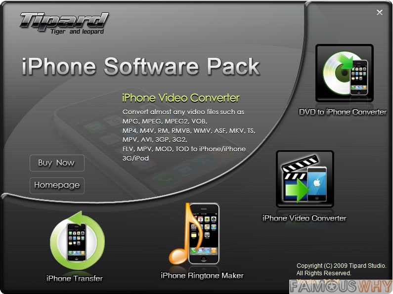 Tipard iPhone Software Pack 4.1.10