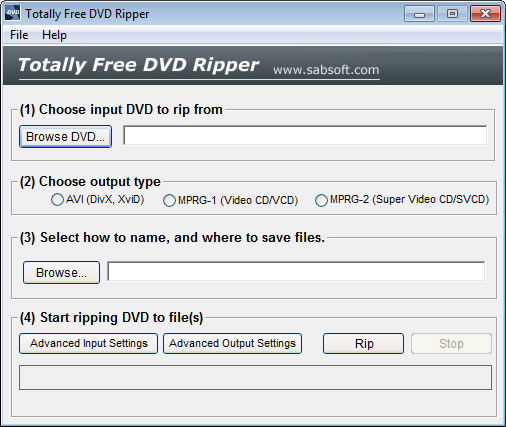 Totally Free DVD Ripper 2.3