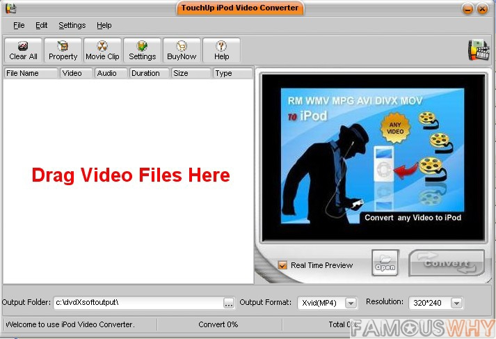 TouchUp iPod Video Converter