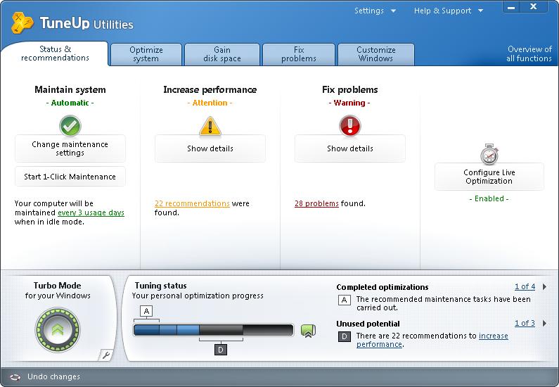 TuneUp Utilities 2011 Build